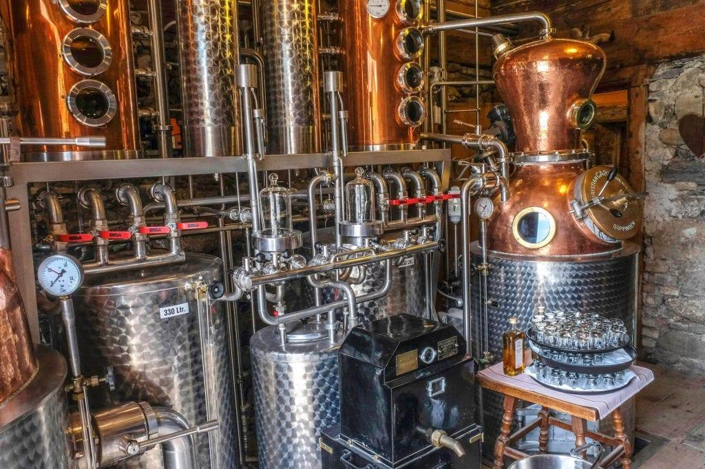 zomervakantie oostenrijk Bregenzerwald gin proeverij