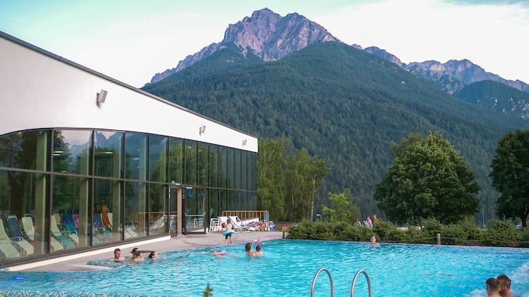 zomervakantie stubaital Relaxen in Erlebnisbad