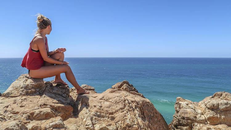 zon zee backpacken australie alleen