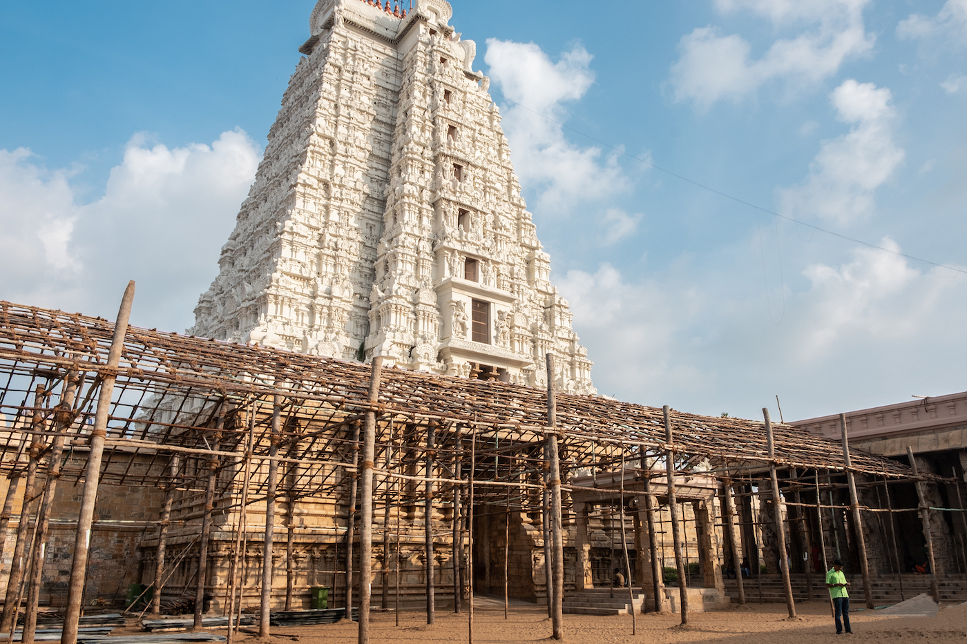 zuid india Tiruchirappalli tempel