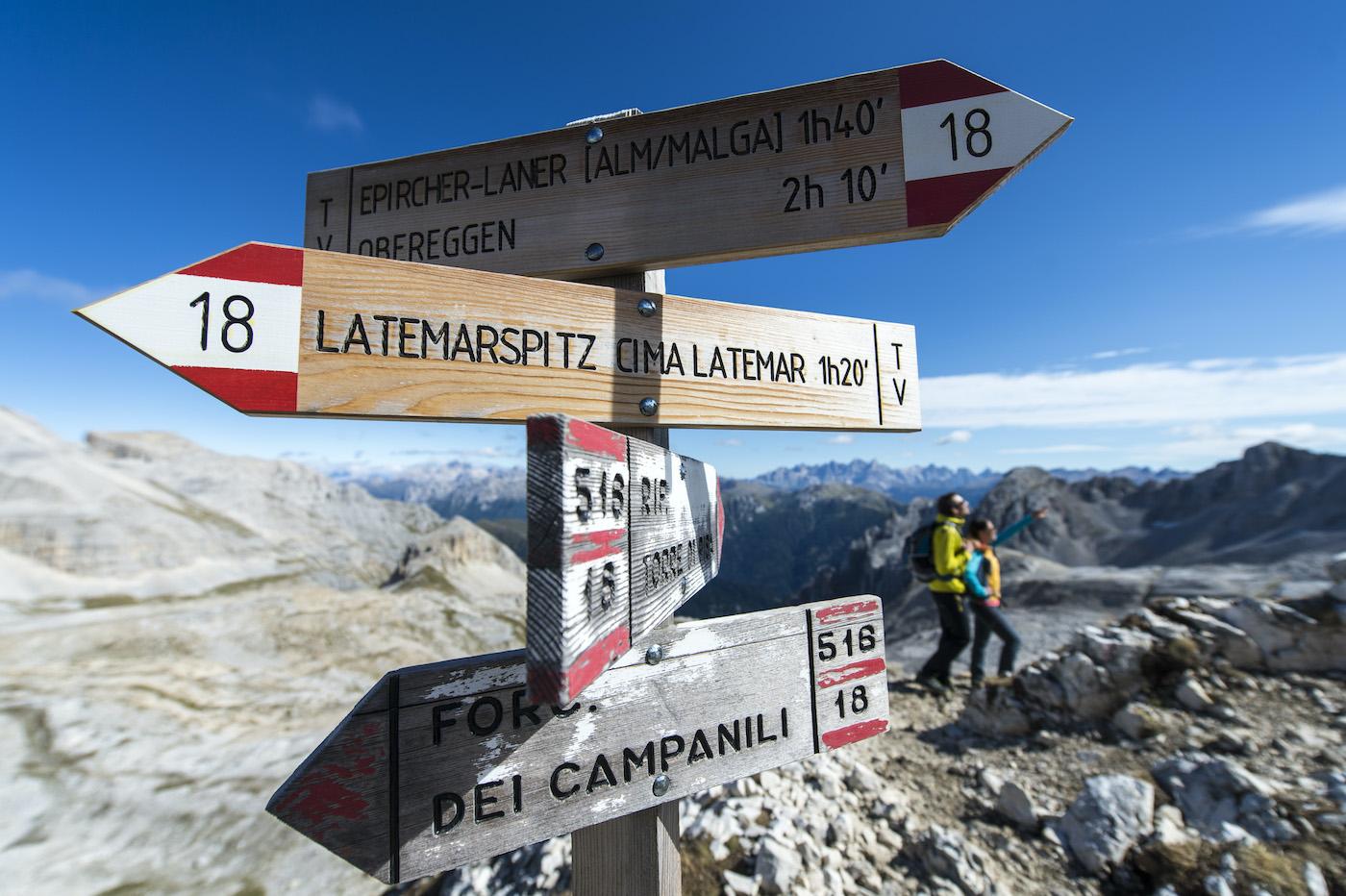 south tyrol Mendaki Latemar Eggental