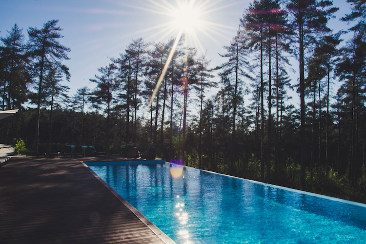 zwembad Pena Park hotel in noord portugal