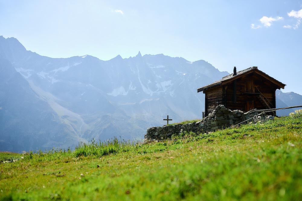zwitserse alpen bergen