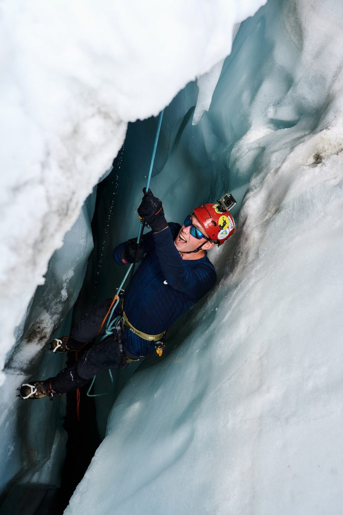 zwitserse alpen ijs klimmen