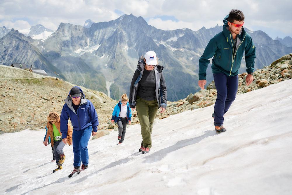 zwitserse alpen klim les